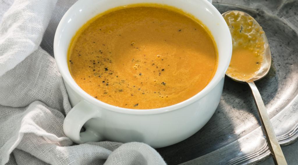 Recept na zázvorovou polévku