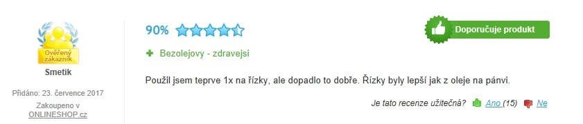 Hrnec Sencor SFR - recenze