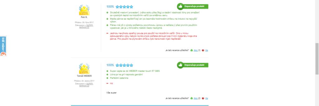 uživatelské recenze