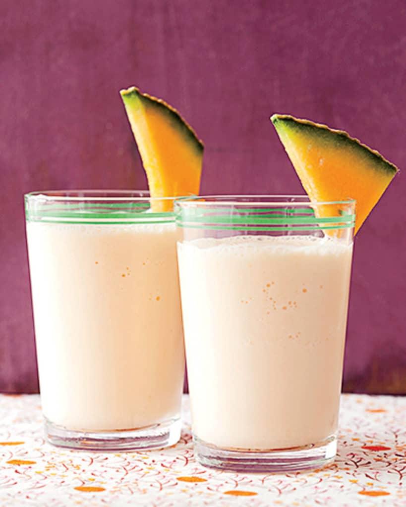 Jogurtovo-melounové smoothie s medem.