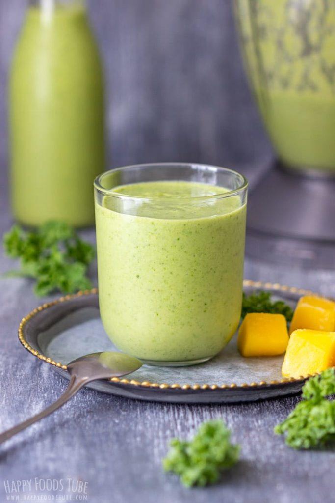 Zelené detoxikační smoothie s mangem