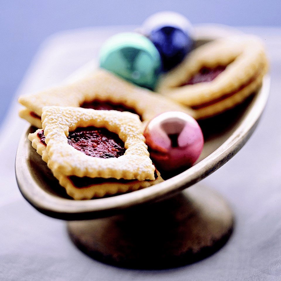 linecké slepované marmeládou nejen pro diabetiky