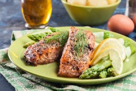 Losos - jedna z nejoblíbenějších ryb.