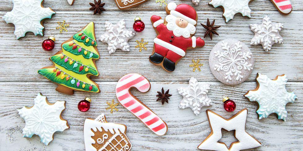 vánoční cukroví můžete ozdobit na mnoho způsobů