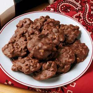 Čokoládové hrudky s oříšky