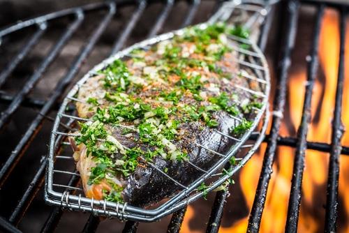 Ryba na grilu je skutečně skvělá.