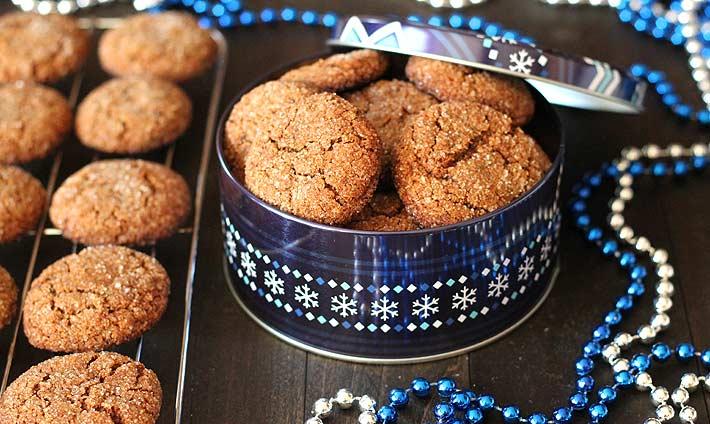 jemné a křupavé sušenky ze zázvoru