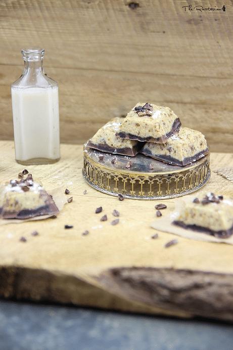 máslové raw ořechové tyčinky