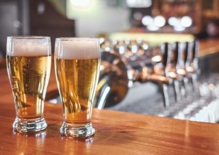 čerstvě načepované pivo