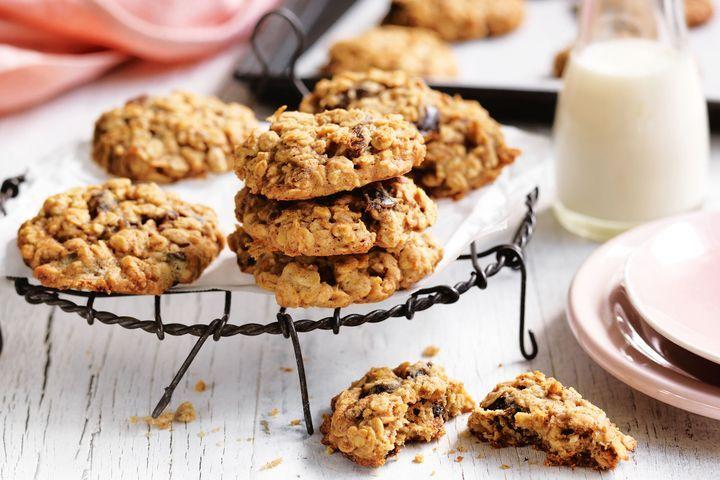datlové sušenky z ovesných vloček
