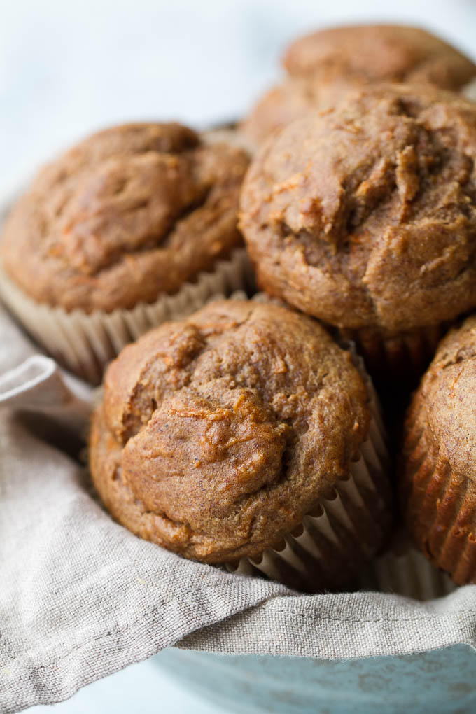 karotkovo-banánové muffiny