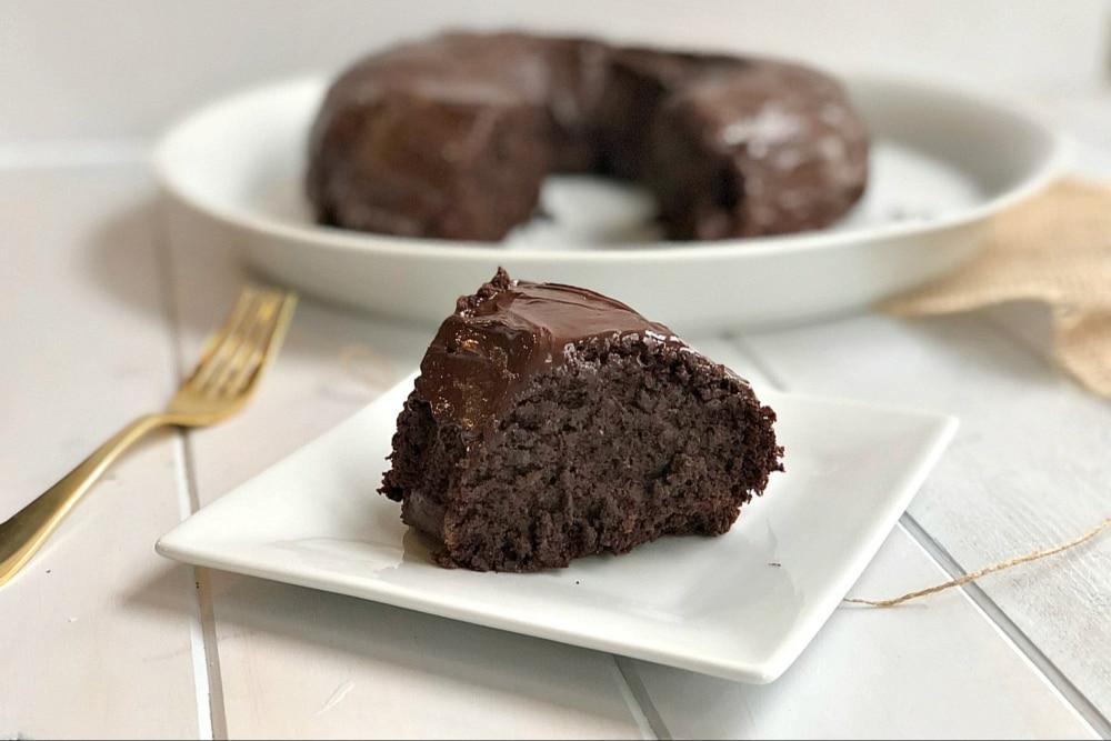 koláč s quinoou bezlepkový a čokoládový