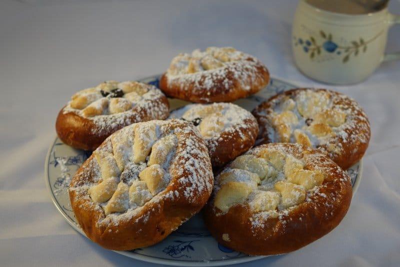 Recept na svatební koláče z Hlučína.