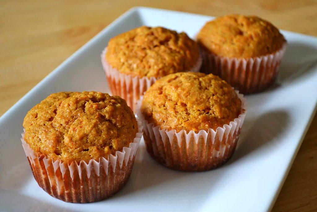 karotkovo-ananasové muffiny