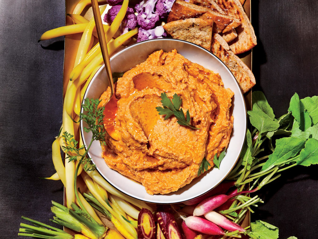 pomazánka z čočky a uzené papriky