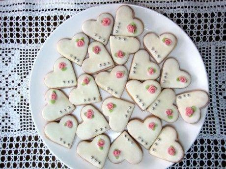 Recept na oříškové svatební cukroví.