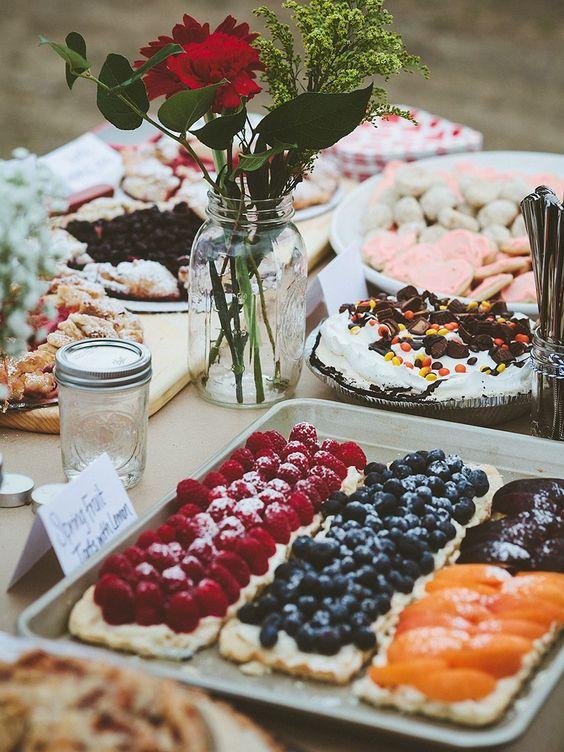 Recept na svatební řezy s ovocem.
