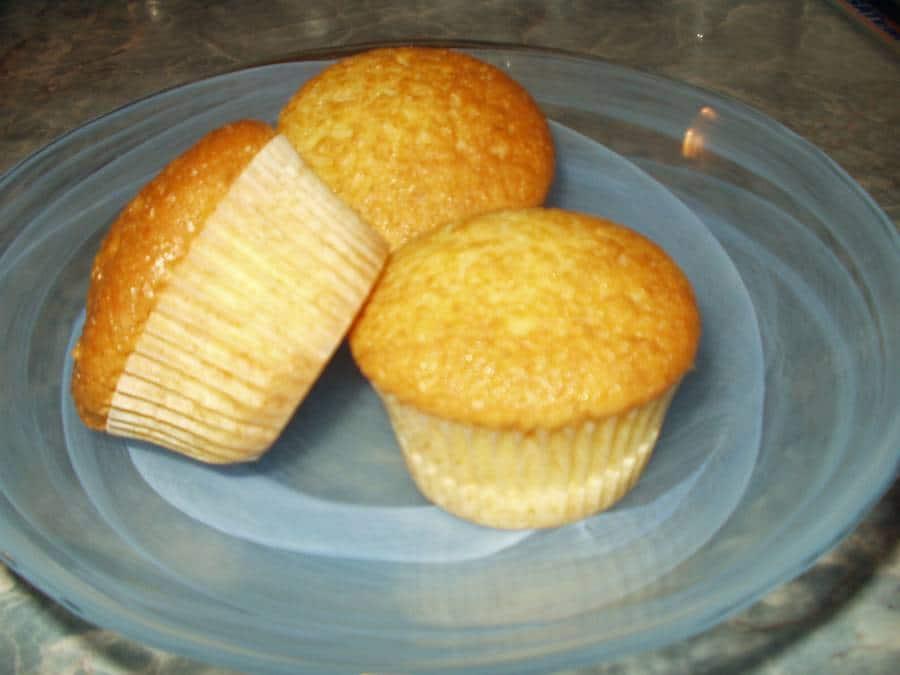 tvarohové muffiny jednoduché