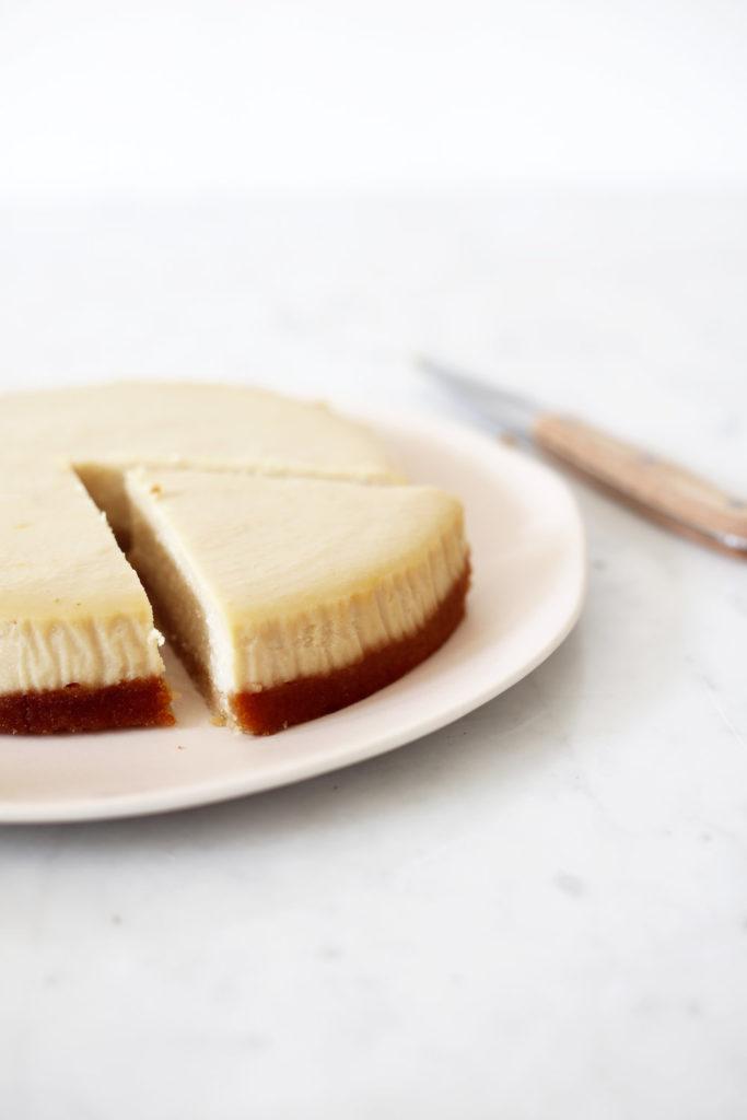 Recept na cheesecake z hedvábného tofu.