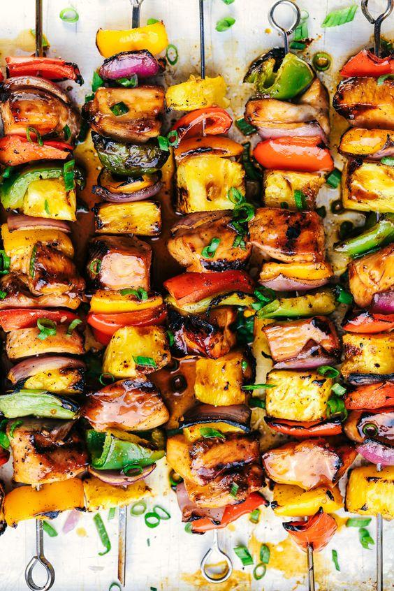 Recept na zeleninové špízy s tofu
