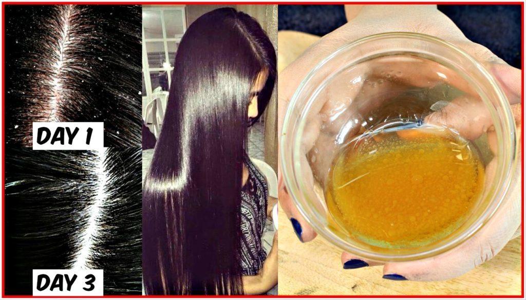 jablečný ocet na vlasy
