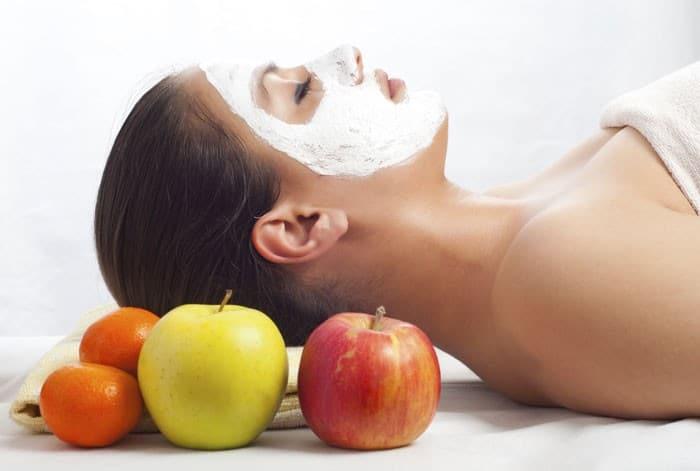 pleťová maska z jablek