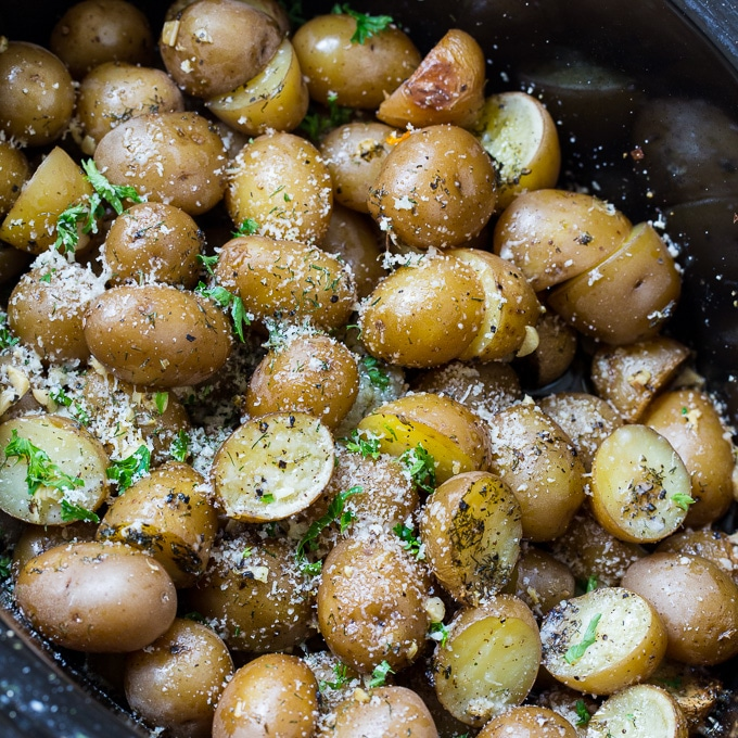 brambory z pomalého hrnce