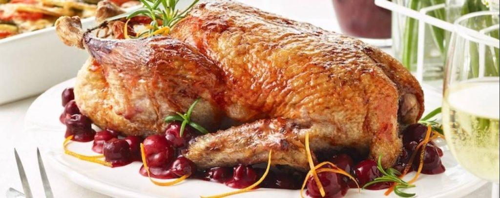 kachna připravená v pomalém hrnci