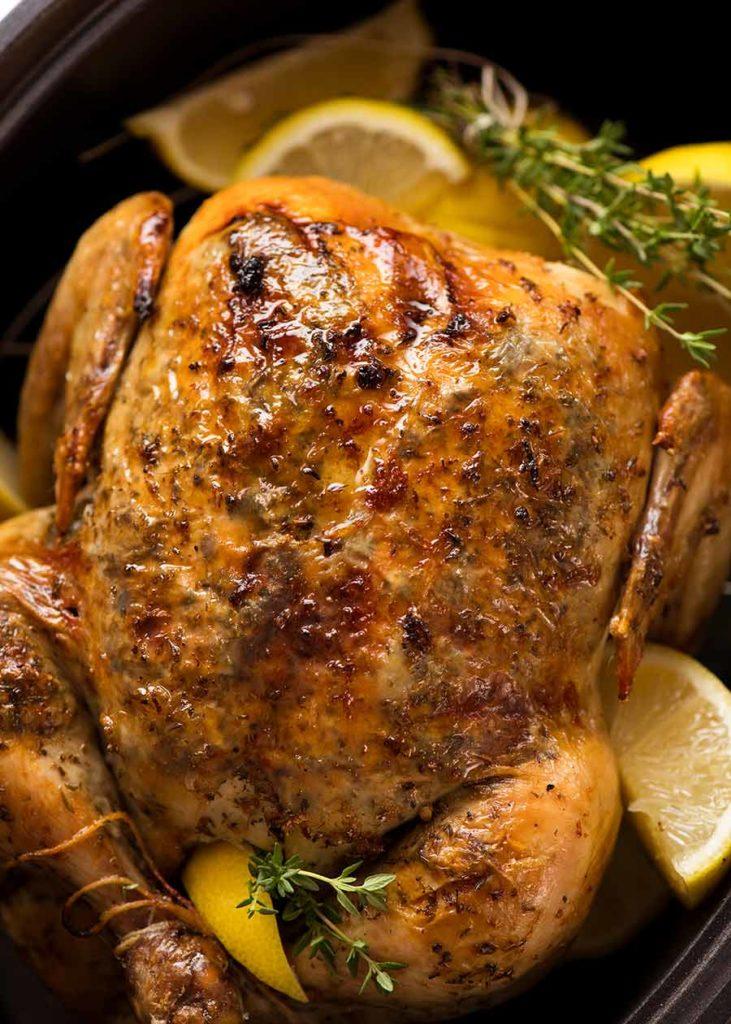 kuře v hrnci na pomalé vaření