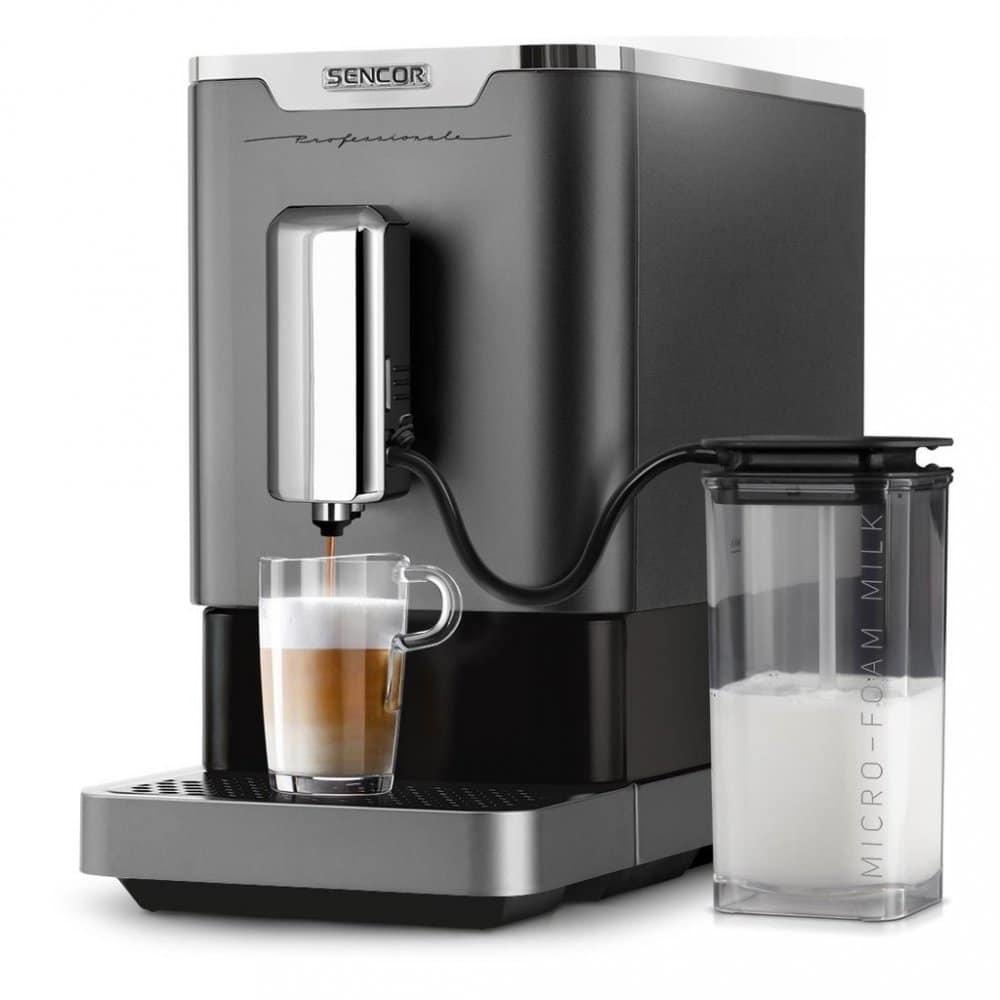 plnoautomatický kávovar Sencor
