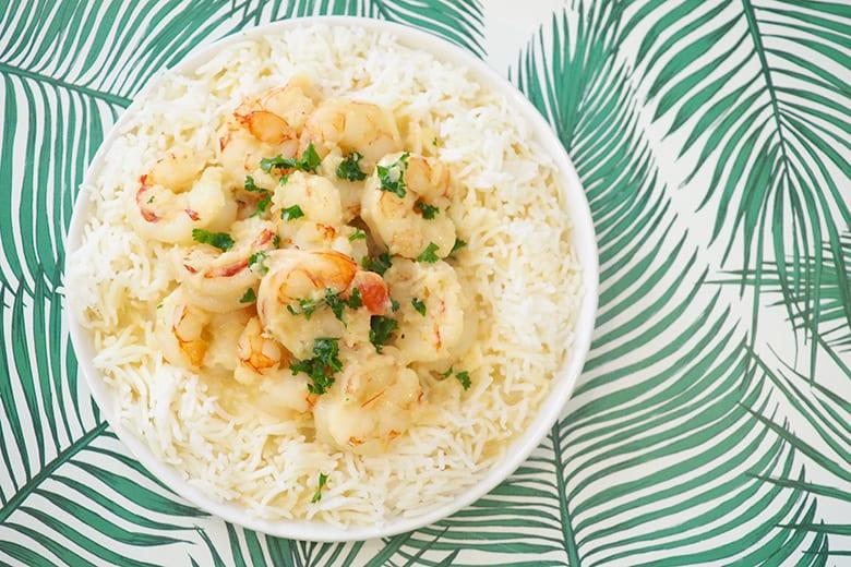 Recept na krevety s rýží nejen jako hlavní obědový chod, ale i jako chutná večeře.