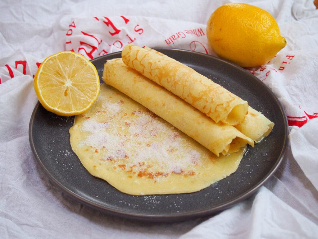 Recept palačinky bez mouky s mascarpone a citronem.