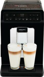 Kávovar s automatickým ovládáním Krups.
