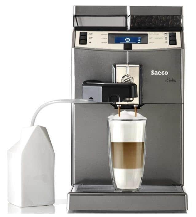 Mezi oblíbené kávovary patří i Saeco.