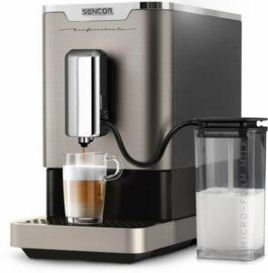 Automatické kávovary Sencor koupíte za dostupnou cenu.