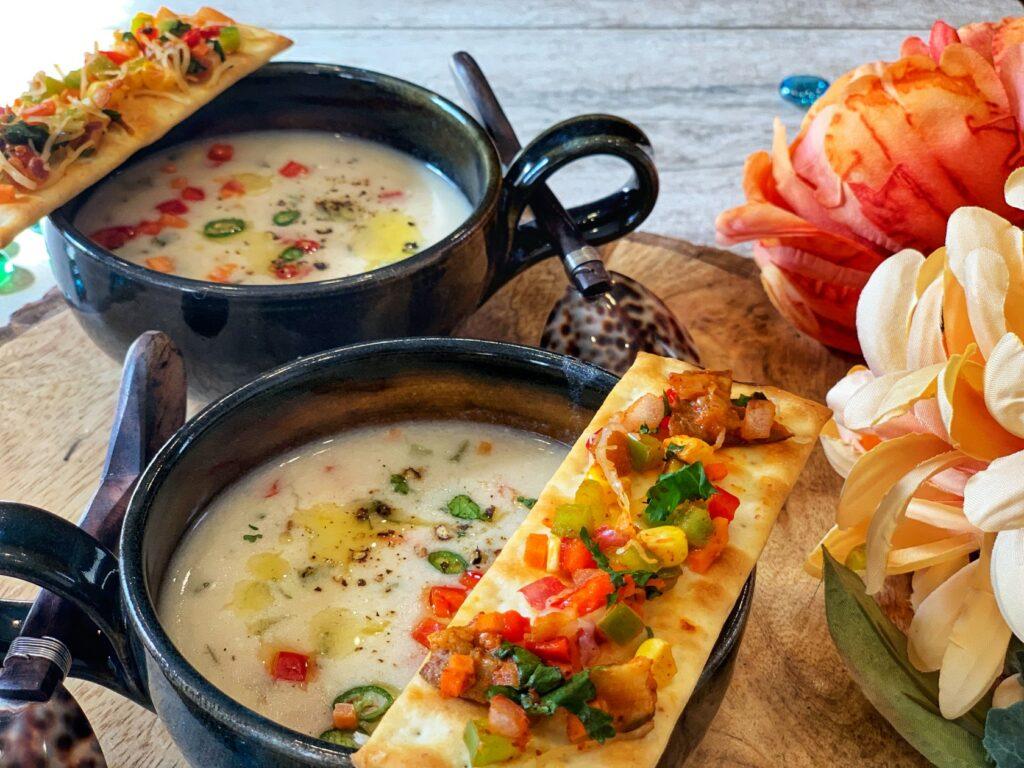 Zdravý recept s jáhlami na polévku se zeleninou.