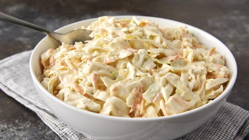 coleslaw s křenem