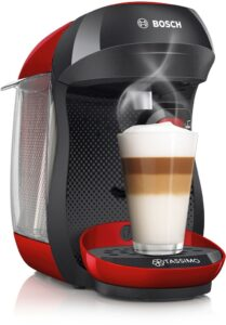 Kapslový kávovar Bosch.