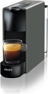 Kávovar Krups na kapsle Nespresso.