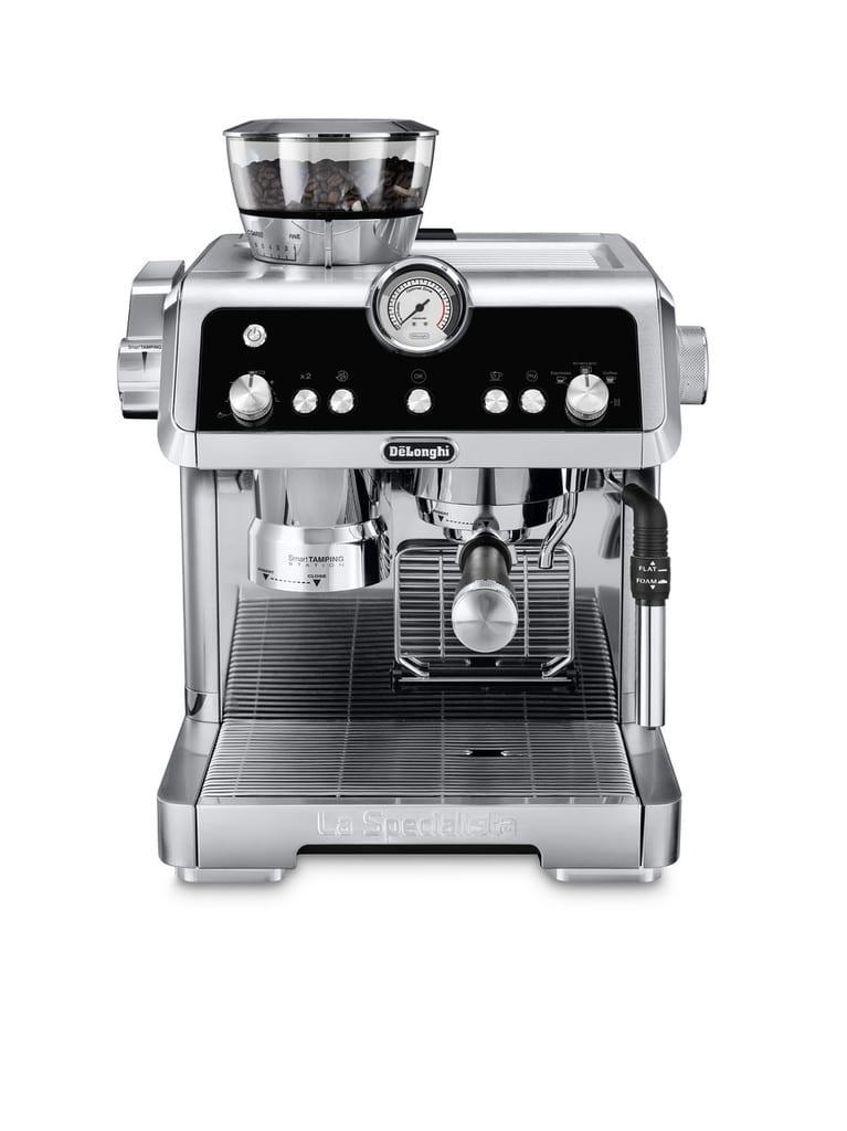 Profesionální kávovar v pěkném designu.