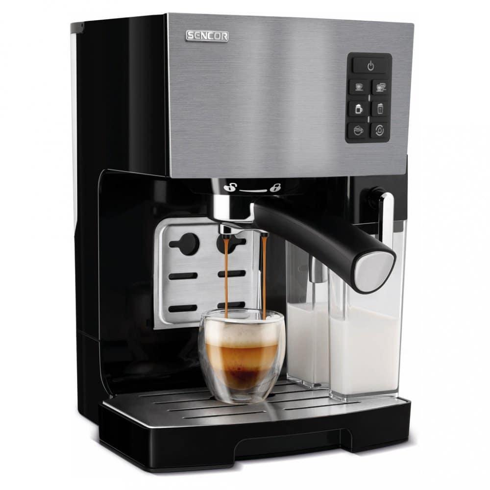 Sencor nabízí kávovary s vychytanými funkcemi za dostupnou cenu.