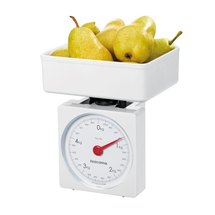 Mechanická kuchyňská váha od Tescomy.