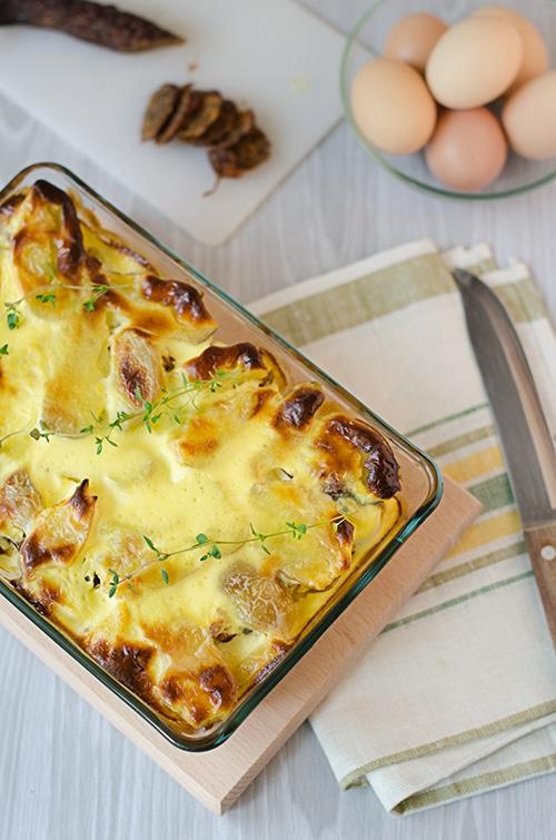 Odlehčené brambory po francouzsku