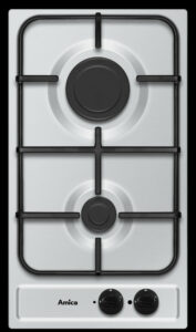 Plynová deska Amica s dvouplotýnkou.