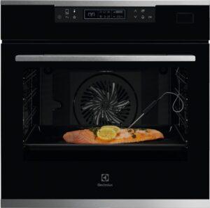 Tepelné senzory a zabudovaná sonda dokážou proces pečení ulehčit.
