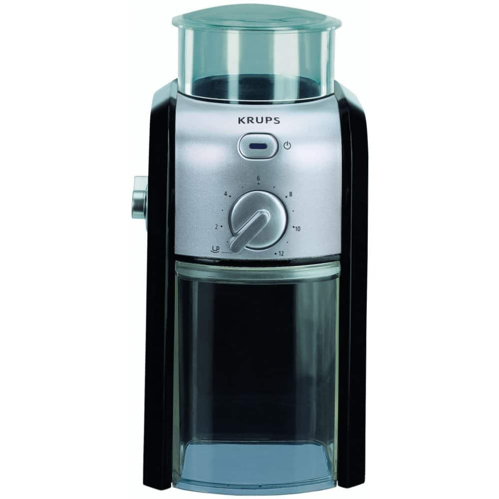 Elektrický mlýnek kávy Krups.