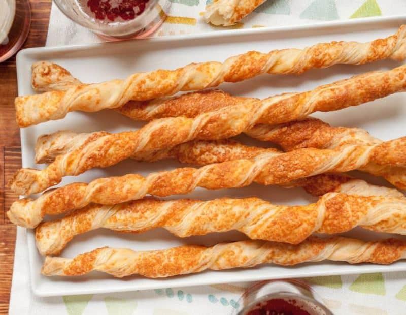 Sýrové kroucené tyčinky
